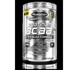 MuscleTech - Platinum BCAA 8:1:1 / 200 caps. Хранителни добавки, Аминокиселини, Разклонена верига (BCAA)