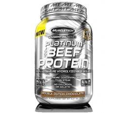 MuscleTech - Platinum Beef Protein / 908 gr. Хранителни добавки, Протеини, Телешки протеин