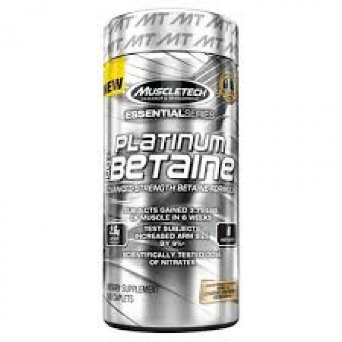 MuscleTech - Platinum 100% Betaine / 168 caps.