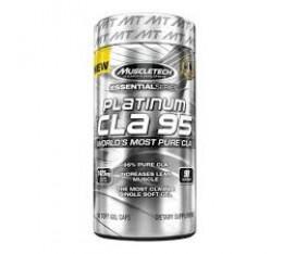 MuscleTech - Platinum Pure CLA 95 / 90 softgels. Хранителни добавки, Отслабване, CLA