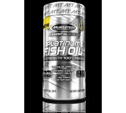 MuscleTech - Platinum Fish Oil 4X / 60 softgels. Хранителни добавки, Мастни киселини, Рибено масло