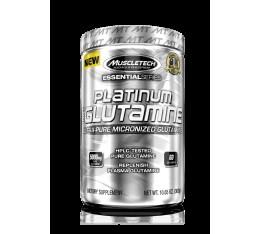 MuscleTech - Platinum 100% Glutamine / 302 gr. Хранителни добавки, Аминокиселини, Глутамин