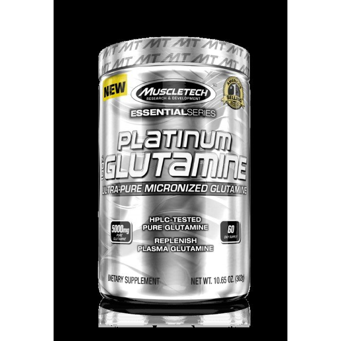 MuscleTech - Platinum 100% Glutamine / 302 gr.