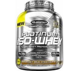 MuscleTech - Platinum 100% Iso-Whey / 812 gr. Хранителни добавки, Протеини, Суроватъчен протеин