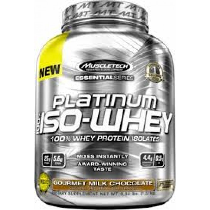 MuscleTech - Platinum 100% Iso-Whey / 812 gr.