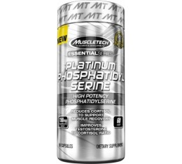 MuscleTech - Platinum PHOSPHATIDYLSERINE / 60 caps. На билкова основа