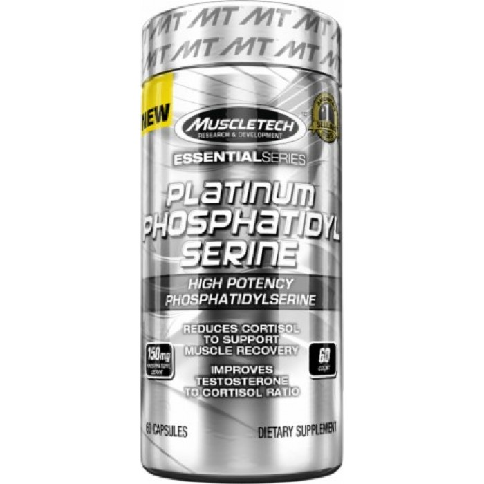 MuscleTech - Platinum PHOSPHATIDYLSERINE / 60 caps.