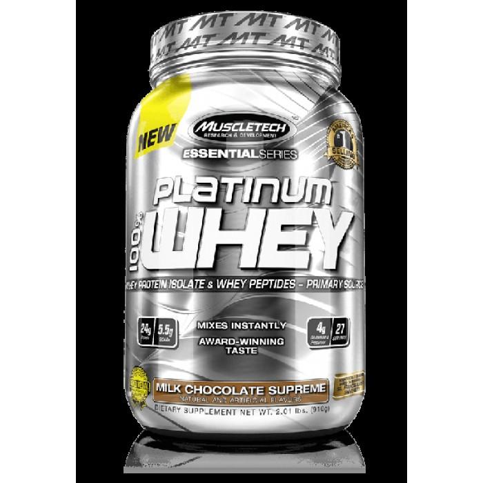 MuscleTech - Platinum 100% Whey / 910 gr.