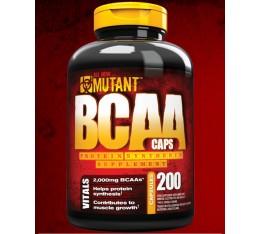 Mutant - BCAA / 200 caps. Хранителни добавки, Аминокиселини, Разклонена верига (BCAA)