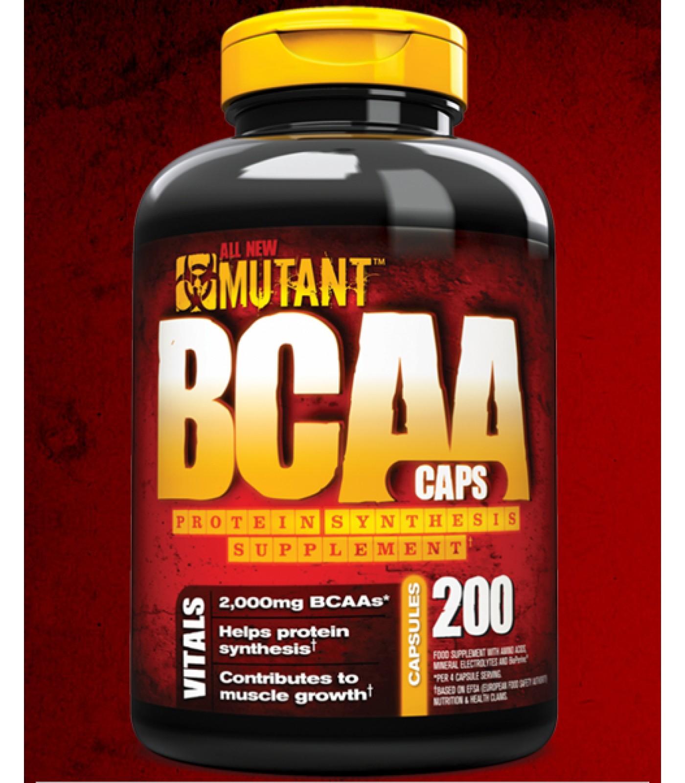 Mutant - BCAA / 200 caps.