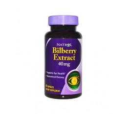 Natrol - Bilberry 40mg. / 60 caps. Хранителни добавки, На билкова основа