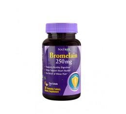 Natrol - Bromelain 250mg / 30tabs Хранителни добавки, Здраве и тонус, Ензими