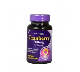 Natrol - Cranberry 800mg (Червена боровинка) / 30 caps.