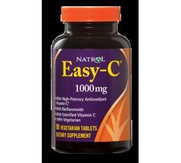 Natrol - Easy-C 1000mg+Citrus Bioflavonoids / 90 tabs. Хранителни добавки, Витамини, минерали и др., Витамин C