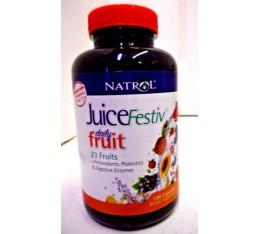 Natrol - JuiceFestiv Daily Fruit / 120 caps. Хранителни добавки, Здраве и тонус