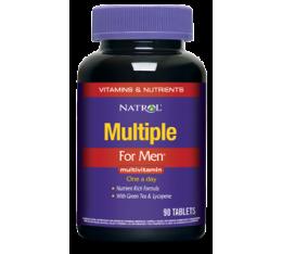 Natrol - Men`s Multivitamin / 90 tabs. Хранителни добавки, Витамини, минерали и др., Мултивитамини