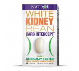 Natrol - White Kidney Bean / 60 caps. Хранителни добавки, Отслабване, Гейнъри за покачване на тегло, Carb/Fat блокери
