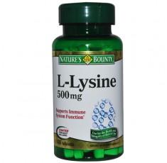 Nature's Bounty - L-Lysine 1000mg. / 60 tabs. Аминокиселини