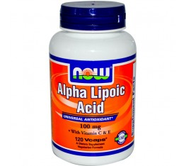 NOW - Alpha Lipoic Acid 100mg. / 120 Vcaps.