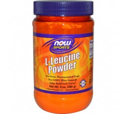 NOW - L-Leucine Powder / 255 gr.