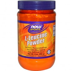 NOW - L-Leucine Powder / 255 gr.