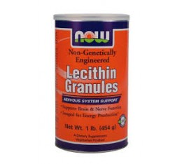 NOW - Lecithin / 454 gr. Хранителни добавки, Мастни киселини, Лецитин