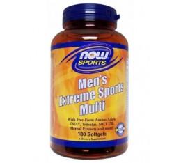 NOW - Men's Extreme Sports Multi / 180 softgels. Хранителни добавки, Витамини, минерали и др., Мултивитамини, Формули за мъже