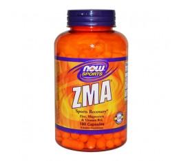 NOW - ZMA Sports Recovery 800 mg. / 180 caps. Хранителни добавки, Стимулатори за мъже, ZMA
