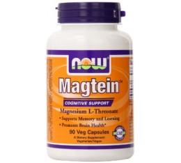 NOW - Magtein™- 90 Veg Capsules