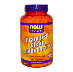 NOW - Branched Chain Amino Acids / 240caps.
