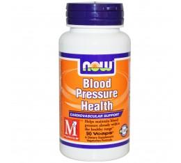NOW - Blood Pressure Health - 90caps.  Хранителни добавки, Здраве и тонус