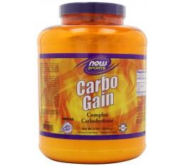 NOW - Carbo Gain 100% Complex Carbohydrate / 8lbs.  Хранителни добавки, Гейнъри за покачване на тегло, Въглехидрати