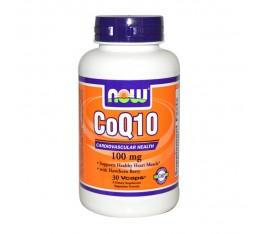 NOW - CoQ10 100mg. / 30 caps. Хранителни добавки, Антиоксиданти, Коензим Q10