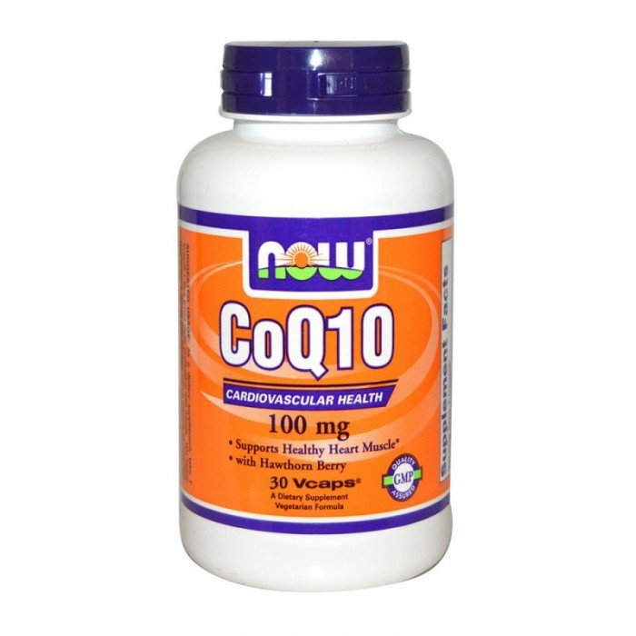 NOW - CoQ10 100mg. / 30 caps.