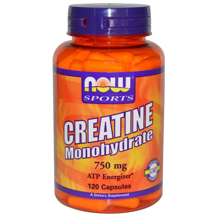 NOW - Creatine Monohydrate 750mg - 120 caps.