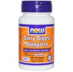 NOW - Dairy Digest Complete - 90 Vcaps®