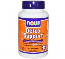 NOW - Detox Support - 90 caps.  Хранителни добавки, Здраве и тонус