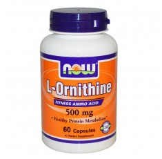 NOW - L-Ornithine 500 mg - 60 caps.