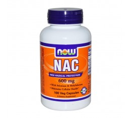 NOW - N-Acetyl Cysteine 600 mg - 100 caps.