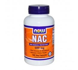 NOW - N-Acetyl Cysteine 600 mg - 100 caps.  Хранителни добавки, Здраве и тонус
