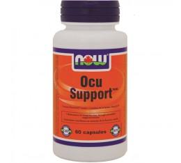 NOW - Ocu Support - 60 caps.  Хранителни добавки, Здраве и тонус