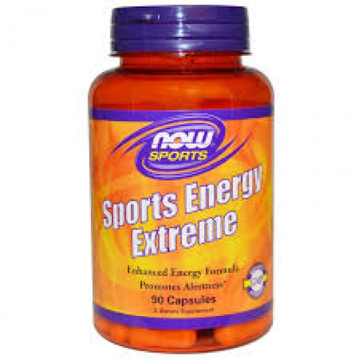 NOW - Sports Energy Extreme - 90 caps.