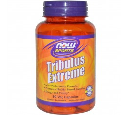 NOW - Tribulus Extreme - 90 vcaps. Хранителни добавки, Стимулатори за мъже, Трибулус-Терестрис