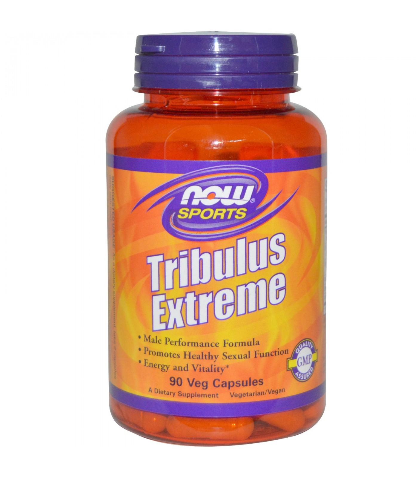 NOW - Tribulus Extreme - 90 vcaps.
