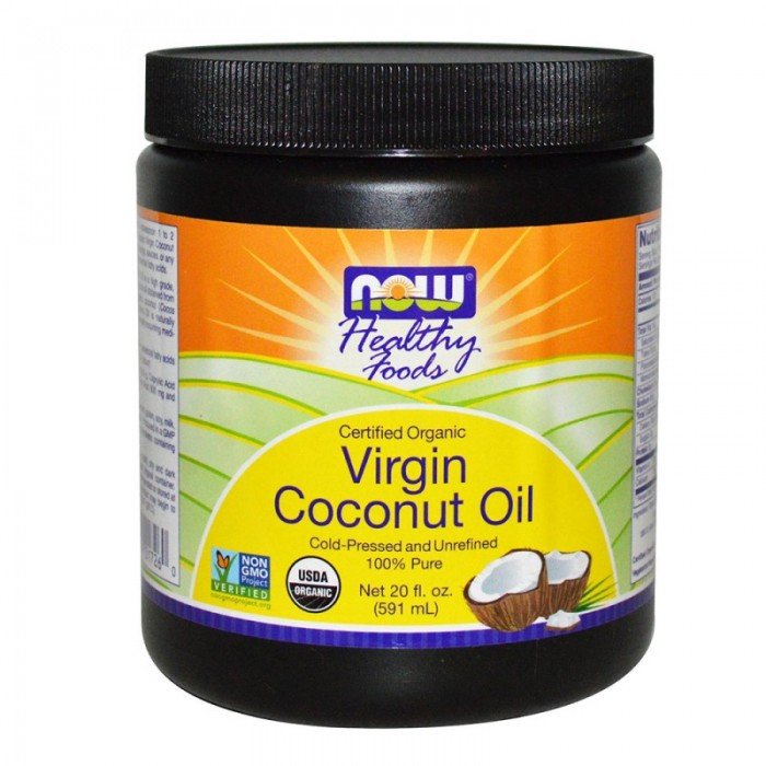 NOW - Virgin Coconut Oil (Organic) - 570 g.
