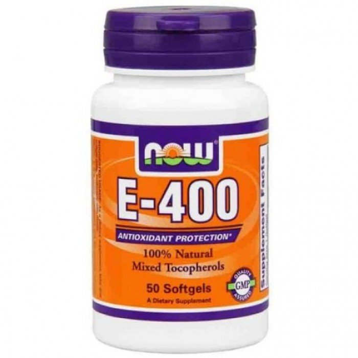 NOW - Vitamin E-400 IU (Mixed Tocopherols) / 50 Softgels