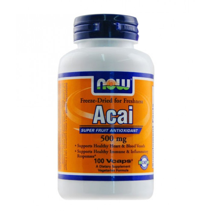 NOW - Acai 500mg. / 100 VCaps.