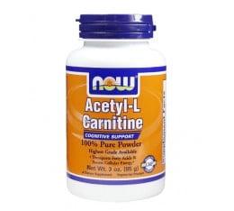 NOW - Acetyl L-Carnitine Powder / 85 gr. Хранителни добавки, Отслабване, Л-Карнитин