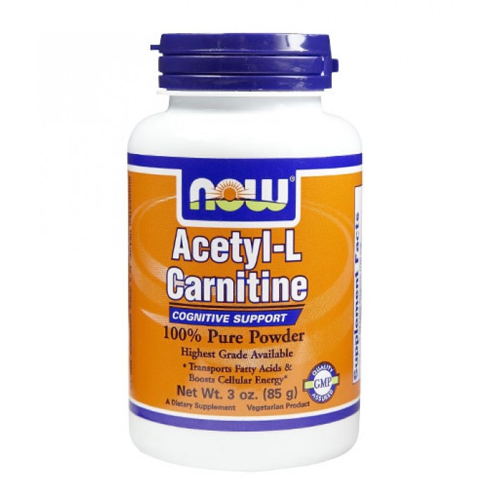 NOW - Acetyl L-Carnitine Powder / 85 gr.