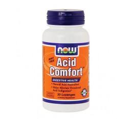 NOW - Acid Comfort / 30 softgels Хранителни добавки, Здраве и тонус, Ензими
